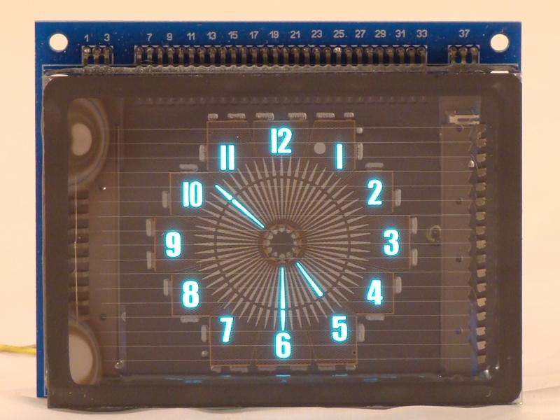 VDF Round Clock