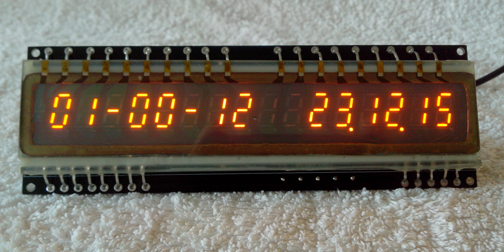 IGP-17 panaplex Clock