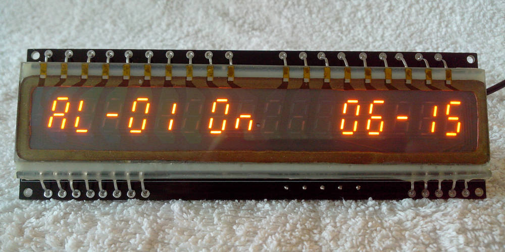 IGP-17Clock displaying Alarm 1