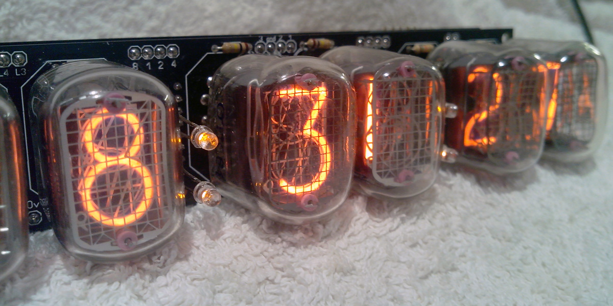 IN-12 6 digits Nixie clock