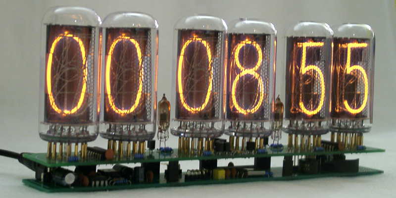 IN-18 Big Nixie Clock