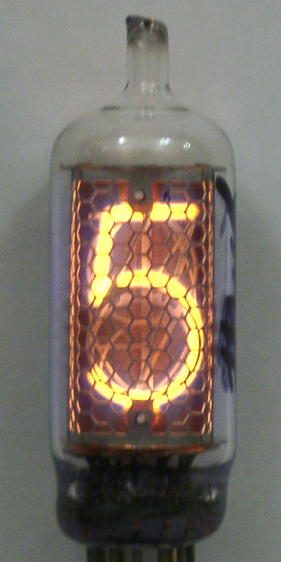 IN-18 1 Digit BIG Nixie Clock
