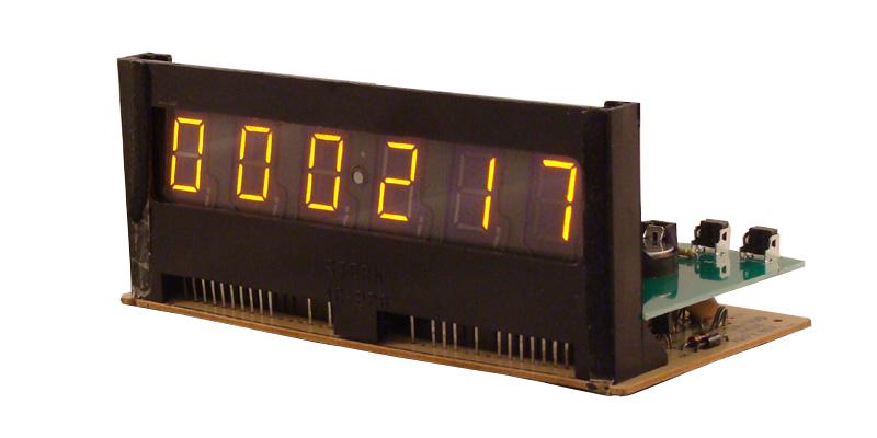 Pinball Display Clock