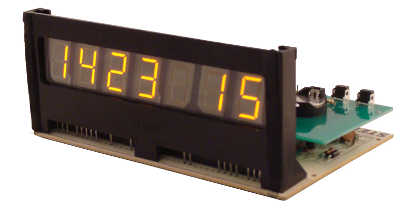 7 Digits Pinball Display Clock