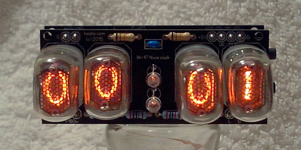 IN-17 4 Digit Nixie Clock