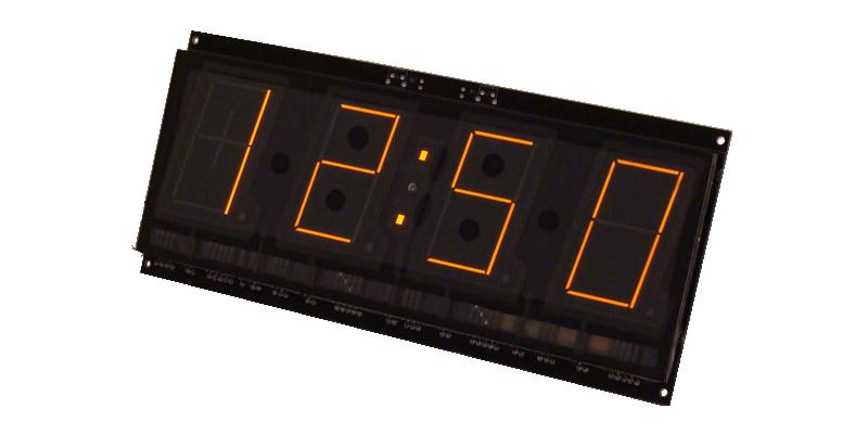 4 digits slim design SP431 panaplex clock