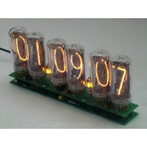 IN-18 6 digits Nixie Clock without tubes