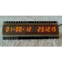 16 digits slim design IGP-17 panaplex clock