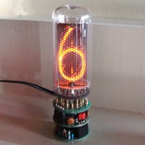 IN-18 1 digit nixie clock