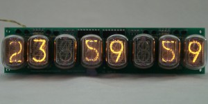 IN-12 8 digits Nixie Clock/Counter